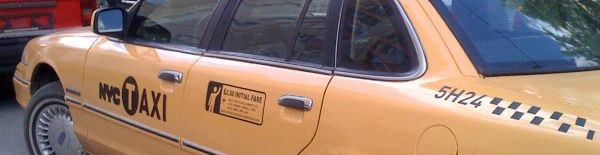 NYC Cab in Moscow