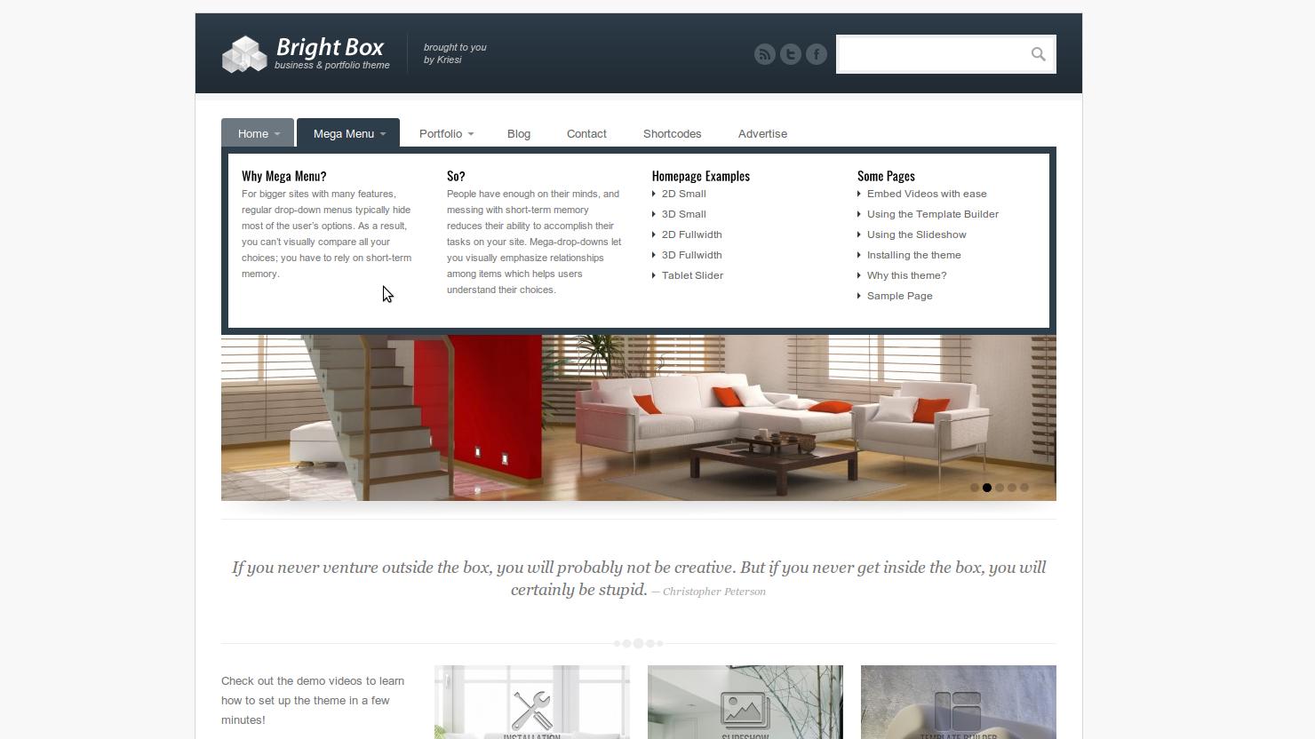 Brightbox for WordPress