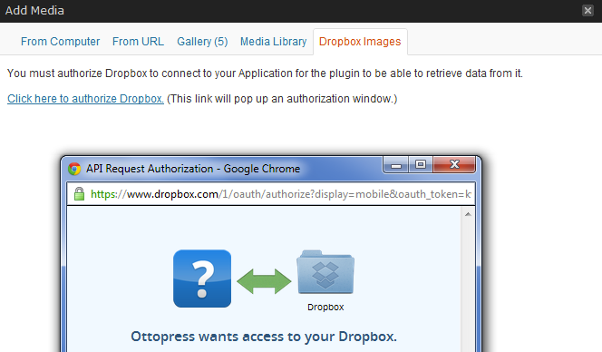Dropbox Photo Sideloader