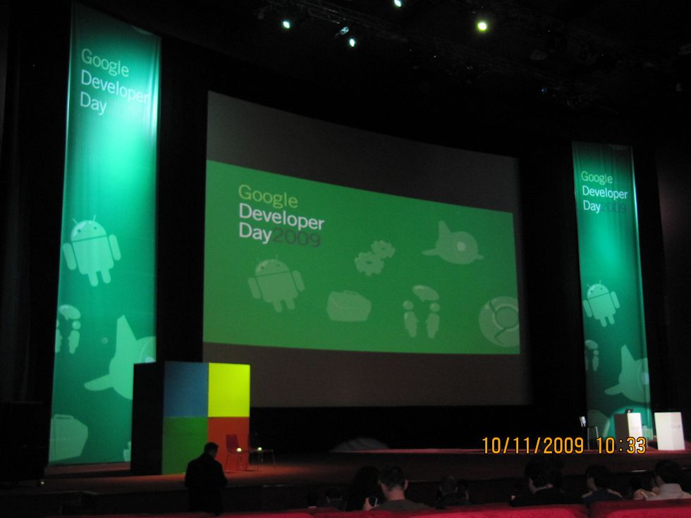 Google Developer Day 2009 Moscow