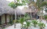 Huts in Tulum