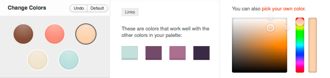 Custom Colors on WordPress.com