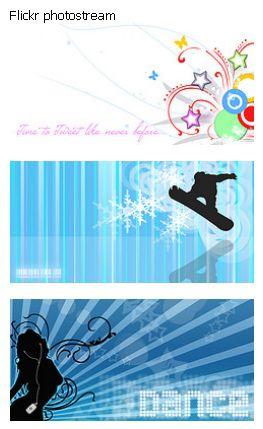 Quick Flickr Widget Screenshot