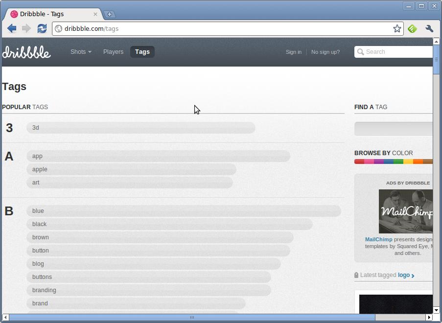 screenshot-dribbble-tags-chromium
