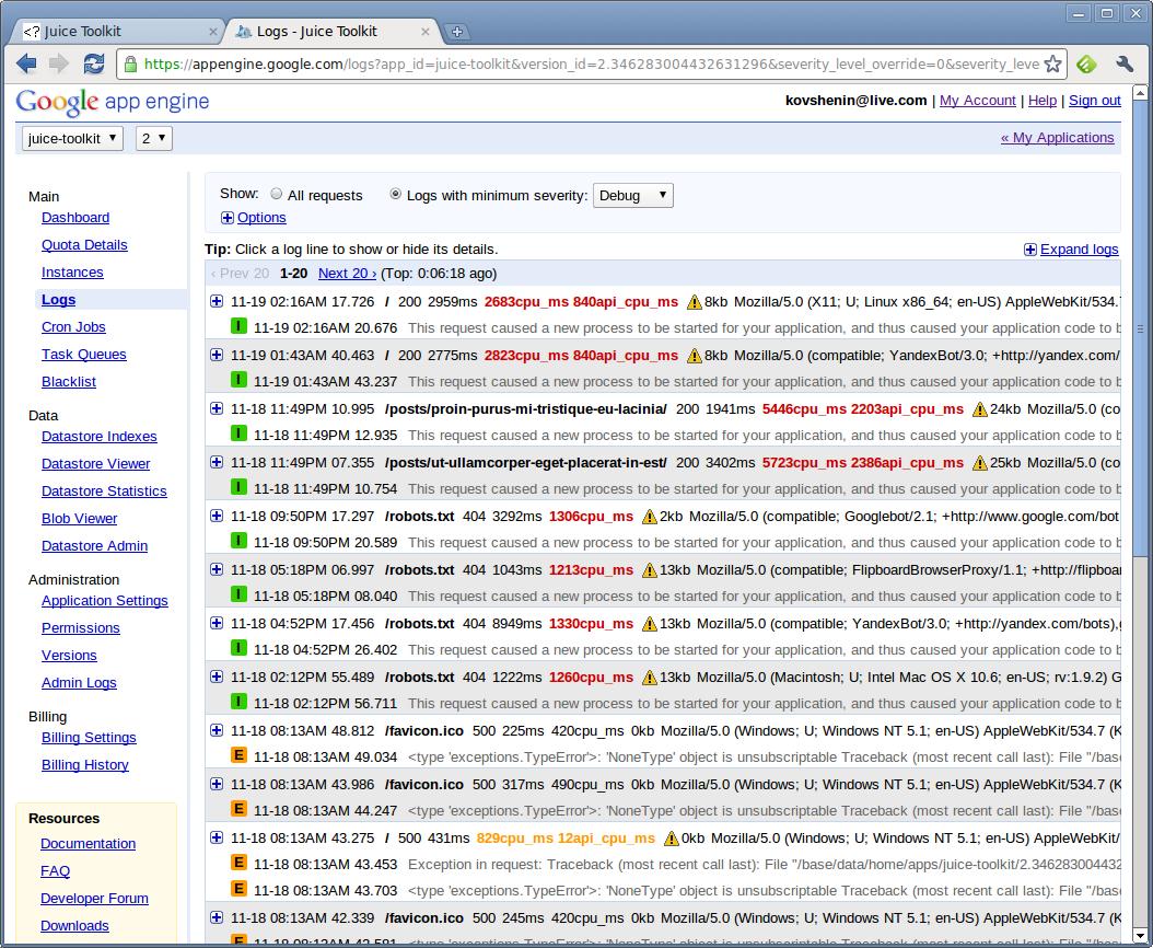 screenshot-logs-juice-toolkit-google-chrome